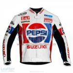 Kevin Schwantz Pepsi Suzuki GP 1988 Motorbike Jacket   Kevin Schwantz Pepsi Suzuki GP 1988 motorcycle Jacket