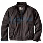 Men's Leather Bomber Jacket | men's leather bomber jacket