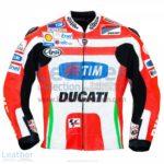 Nicky Hayden Ducati 2012 MotoGP Leather Jacket   Nicky Hayden Ducati 2012 MotoGP Leather Jacket