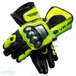 Valentino Rossi 2018 MotoGP Leather Gloves | Valentino Rossi 2018 MotoGP Leather Gloves