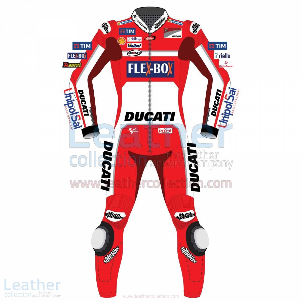 Andrea Dovizioso Ducati MotoGP 2017 Leather Suit