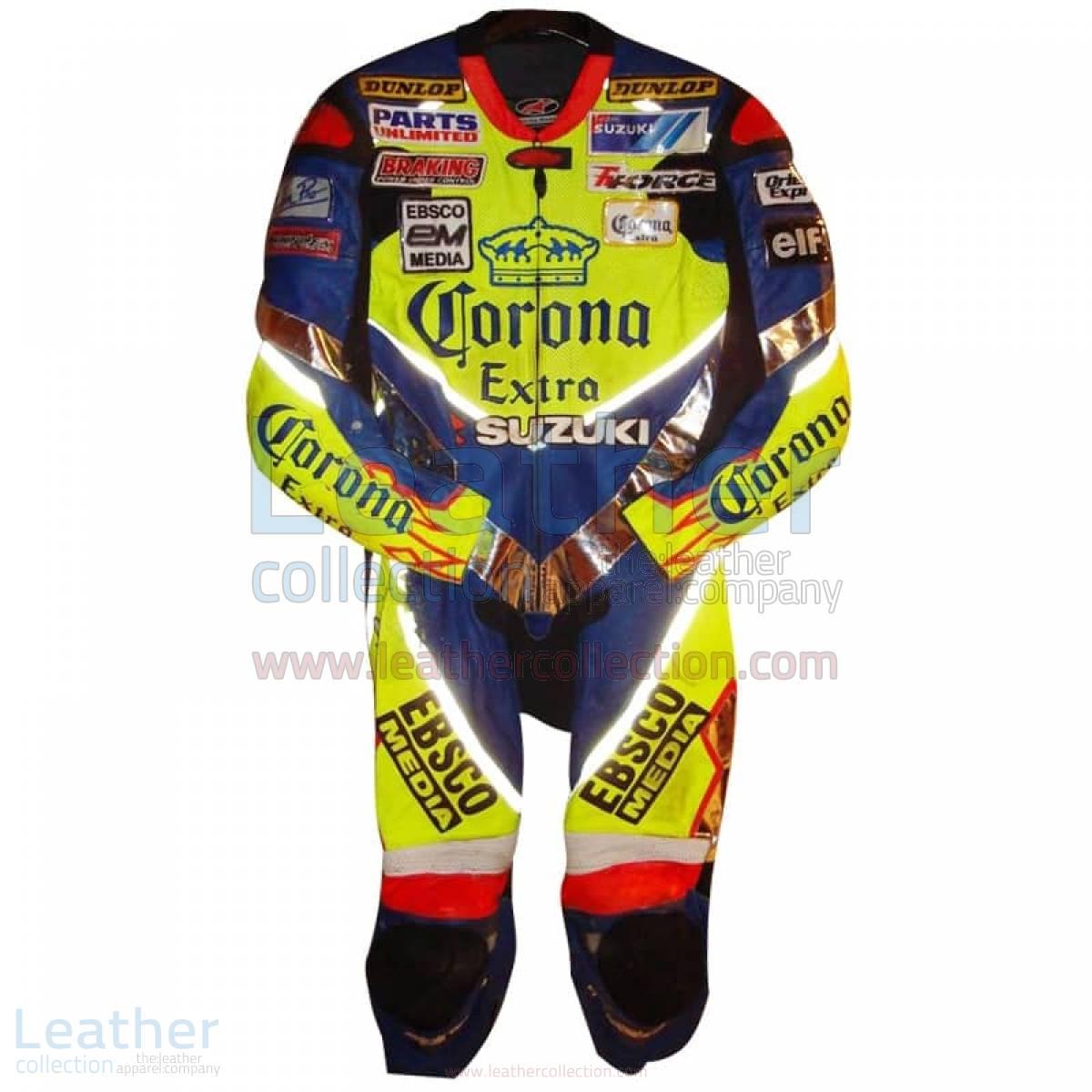 Anthony Gobert 2003 Corona Suzuki Race Leathers