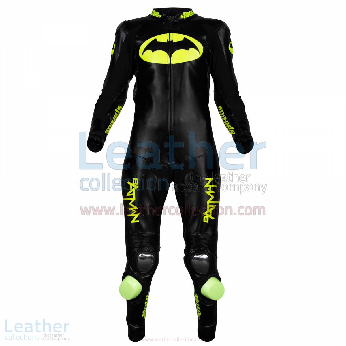 Batman Motorcycle Racing Leathers