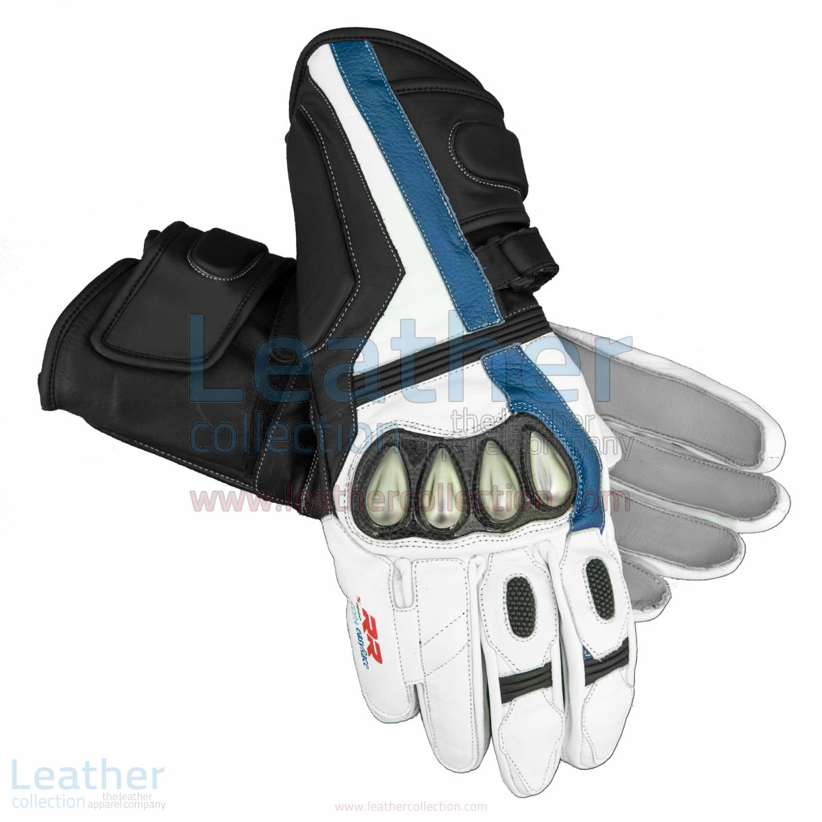 BMW S1000 RR Motorcycle Leather Gloves