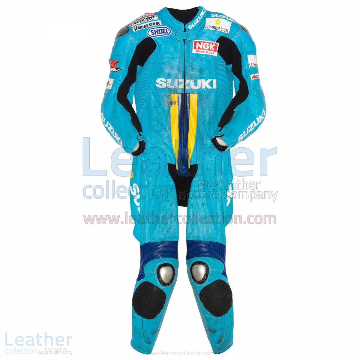Chris Vermeulen Suzuki MotoGP 2007 Leather Suit