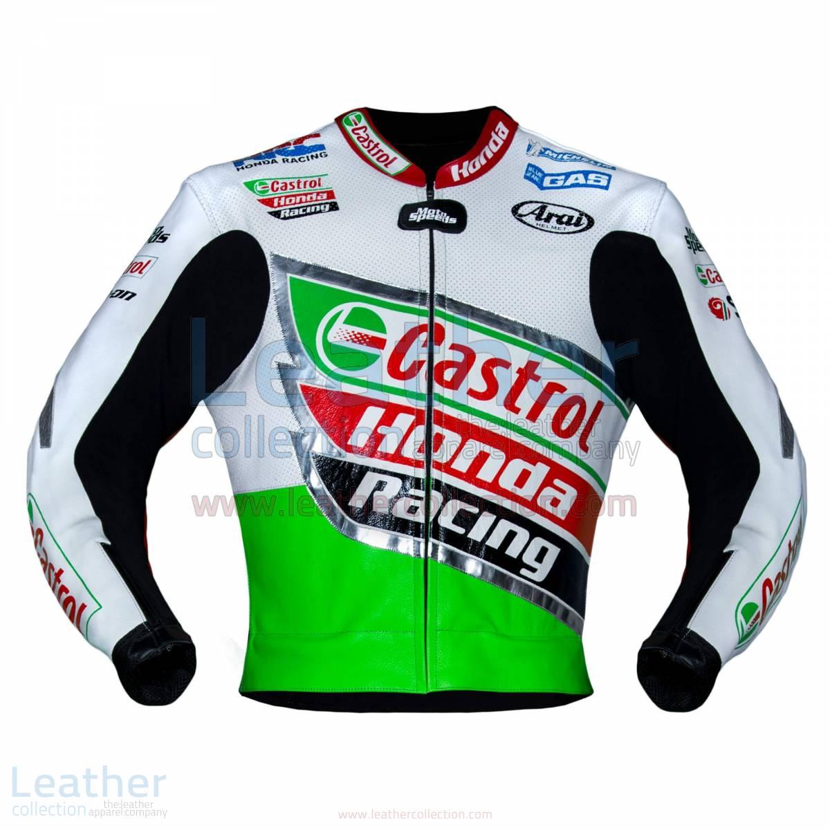 leather honda jacket