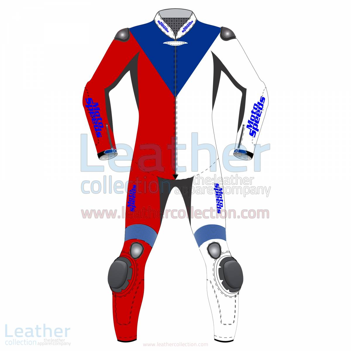 Czech Republic Flag Moto Leathers