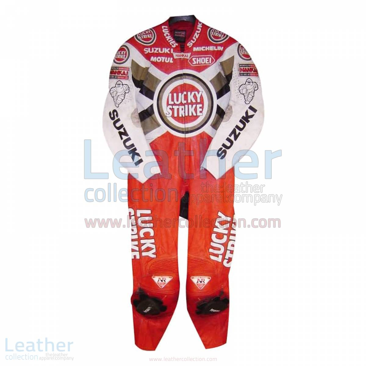 Daryl Beattie Suzuki Lucky Strike Leathers 1995 MotoGP