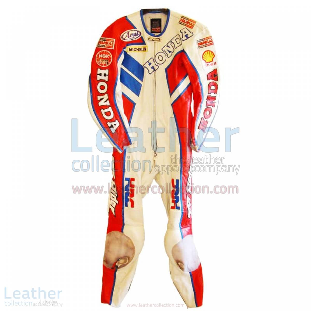 Freddie Spencer Nankai Honda GP 1987 Leathers
