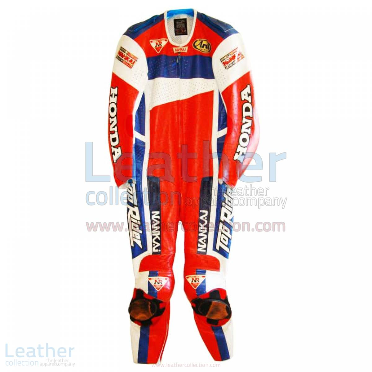 Freddie Spencer Nankai Honda Motorcycle GP 1991 Leathers