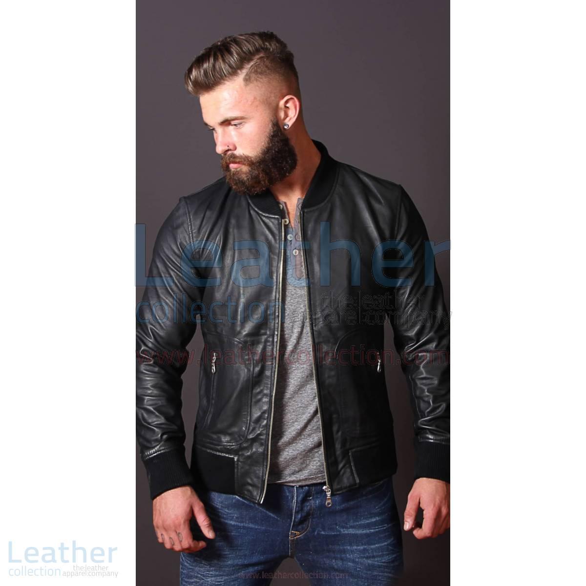 Heritage Leather Jacket For Men