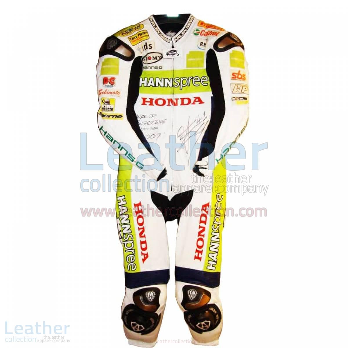 James Toseland Honda WSBK 2007 Leathers