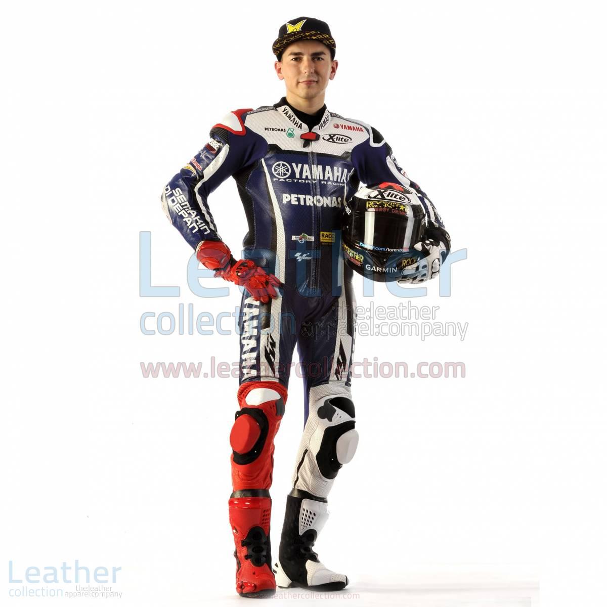 Jorge Lorenzo 2011 MotoGP Race Leather Suit