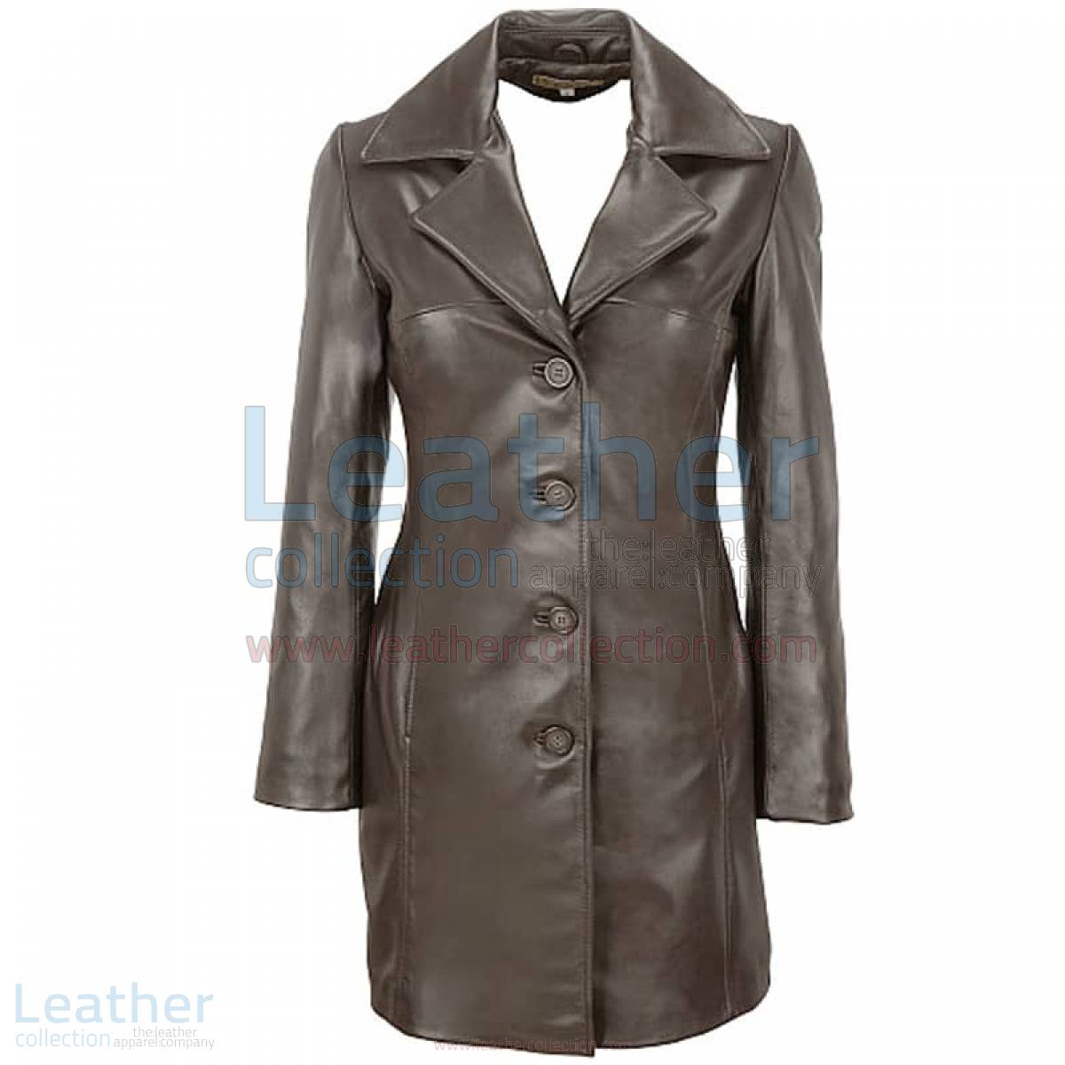 male trench coat black