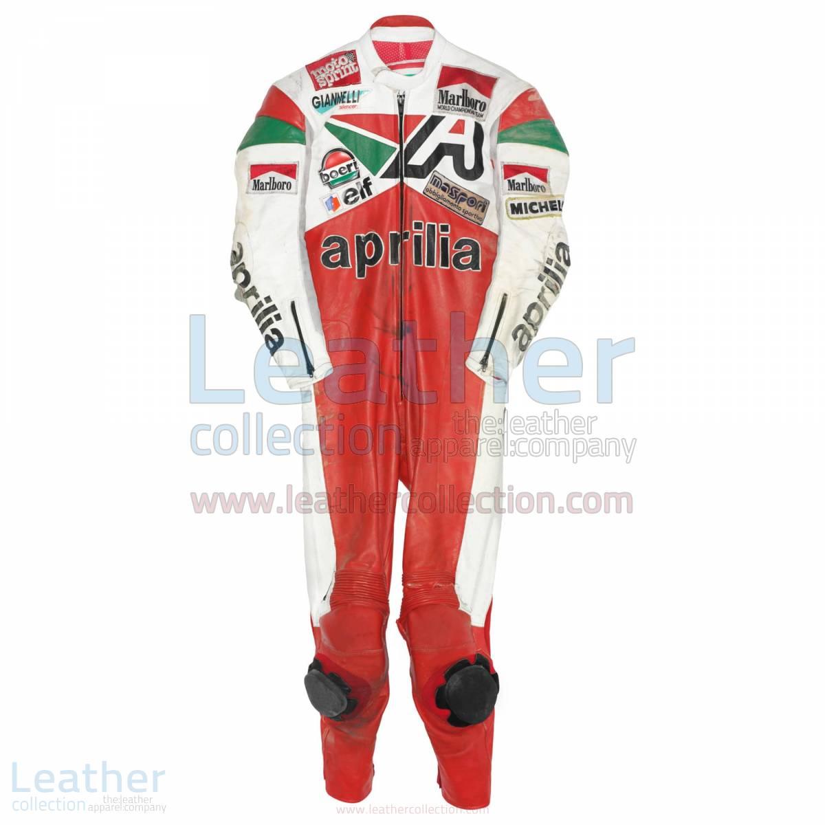 Loris Reggiani Aprilia GP 1987 Leather Suit