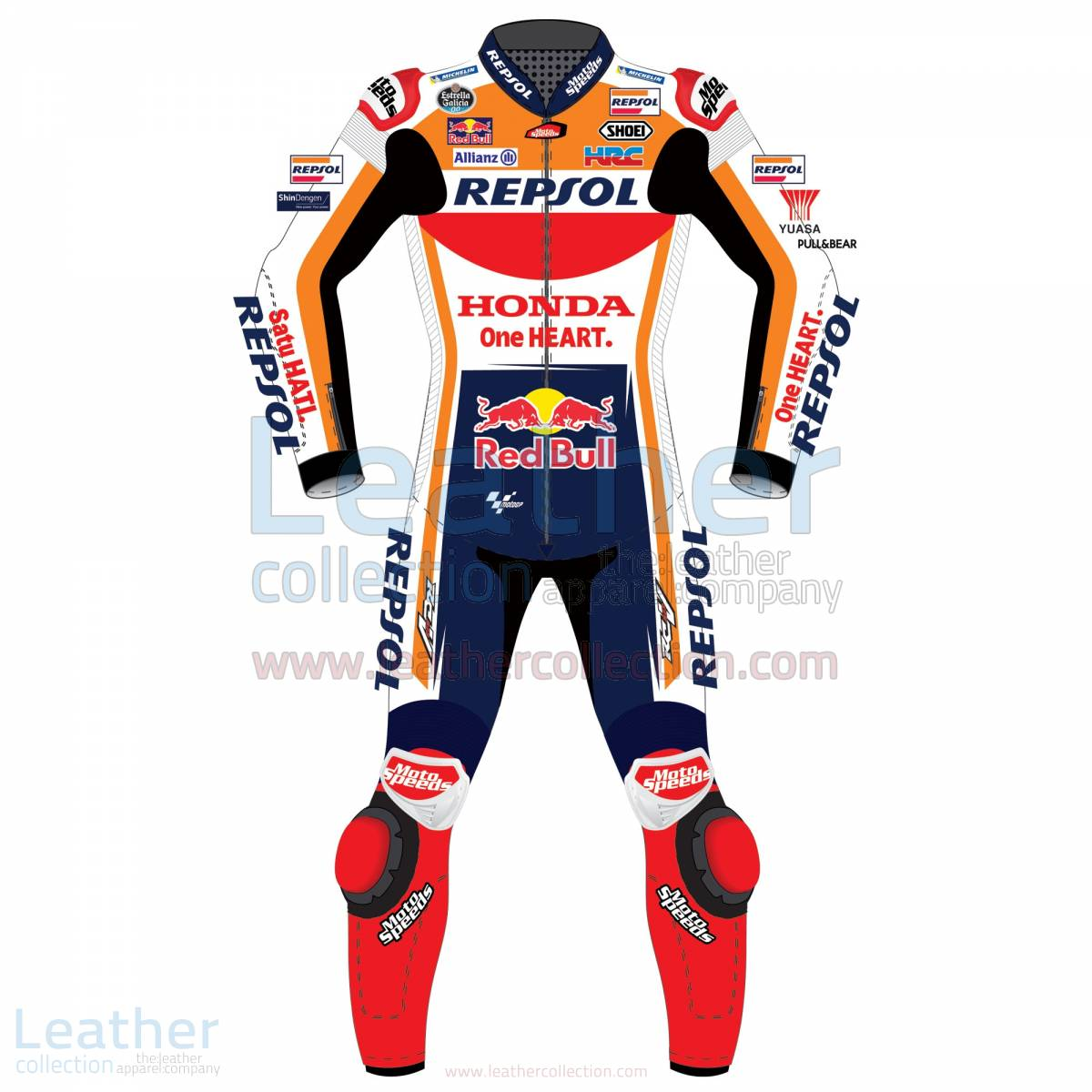 Marquez Honda Repsol MotoGP 2018 Leather Suit