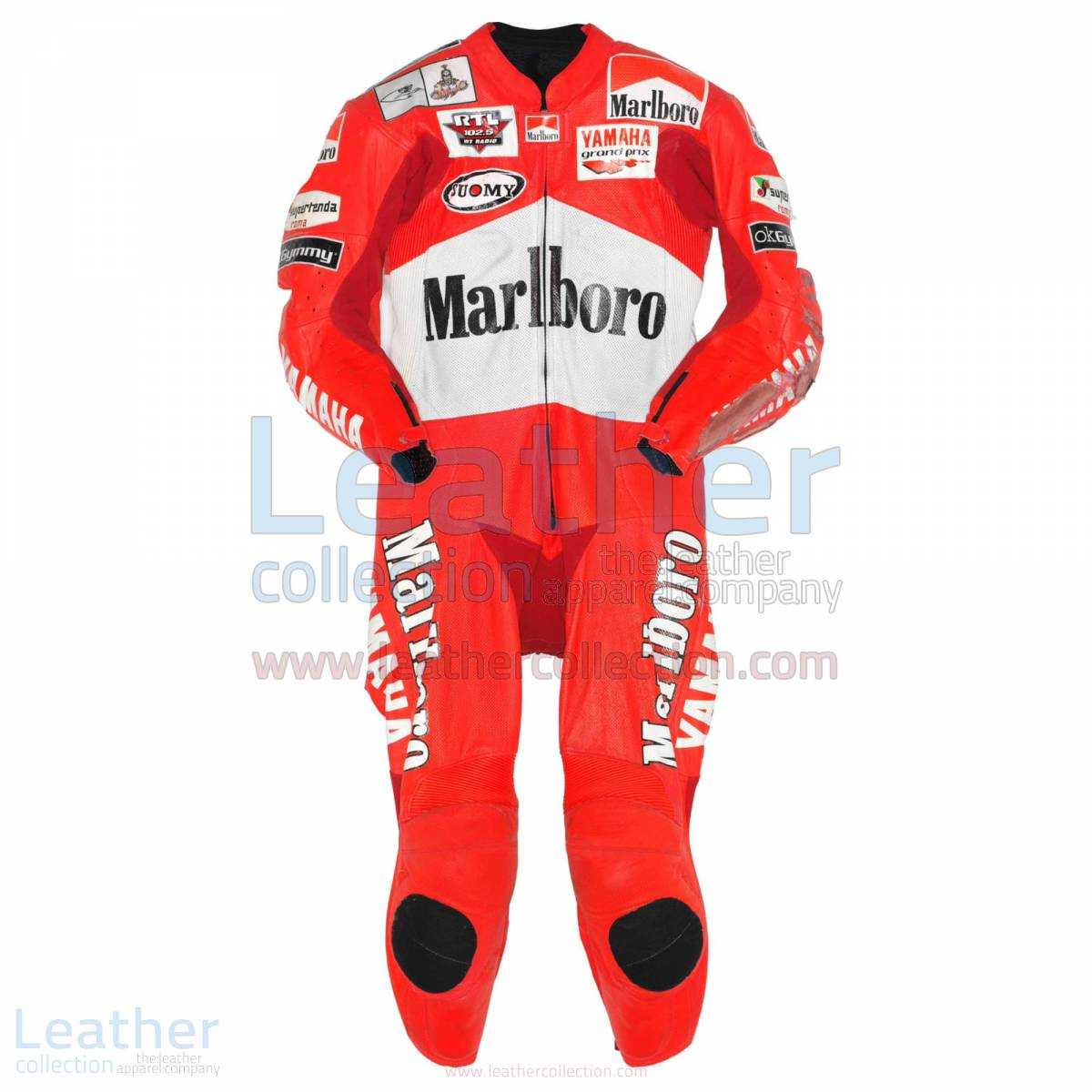 Max Biaggi Marlboro Yamaha GP 2001 Leathers