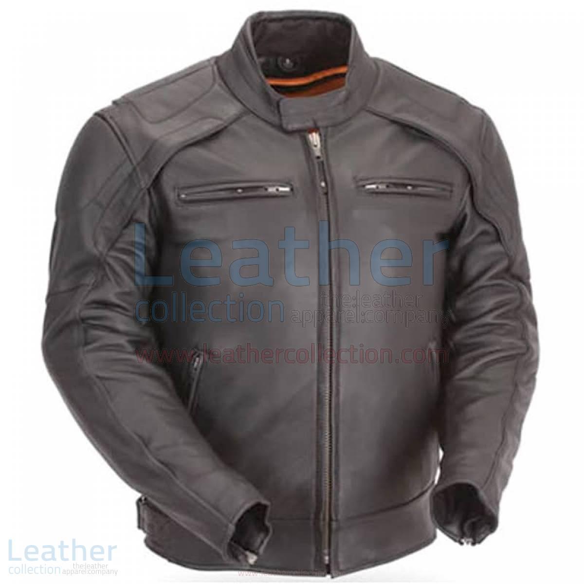 Motorcycle Reflective Piping & Vented Jacket