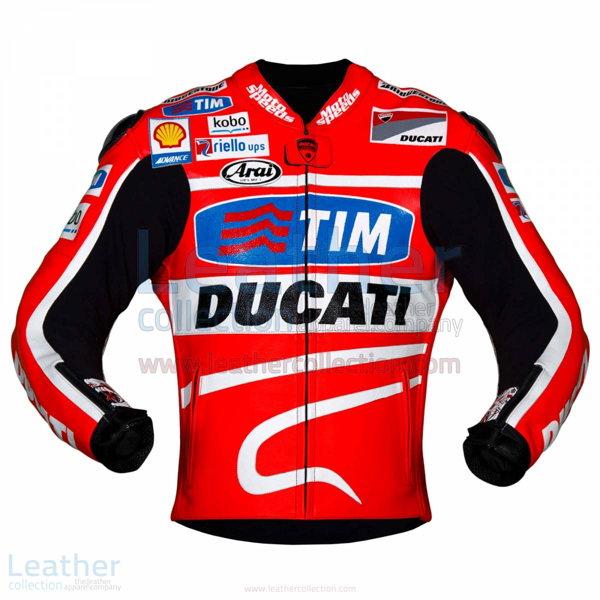 Nicky Hayden 2013 MotoGP Ducati Leather Jacket