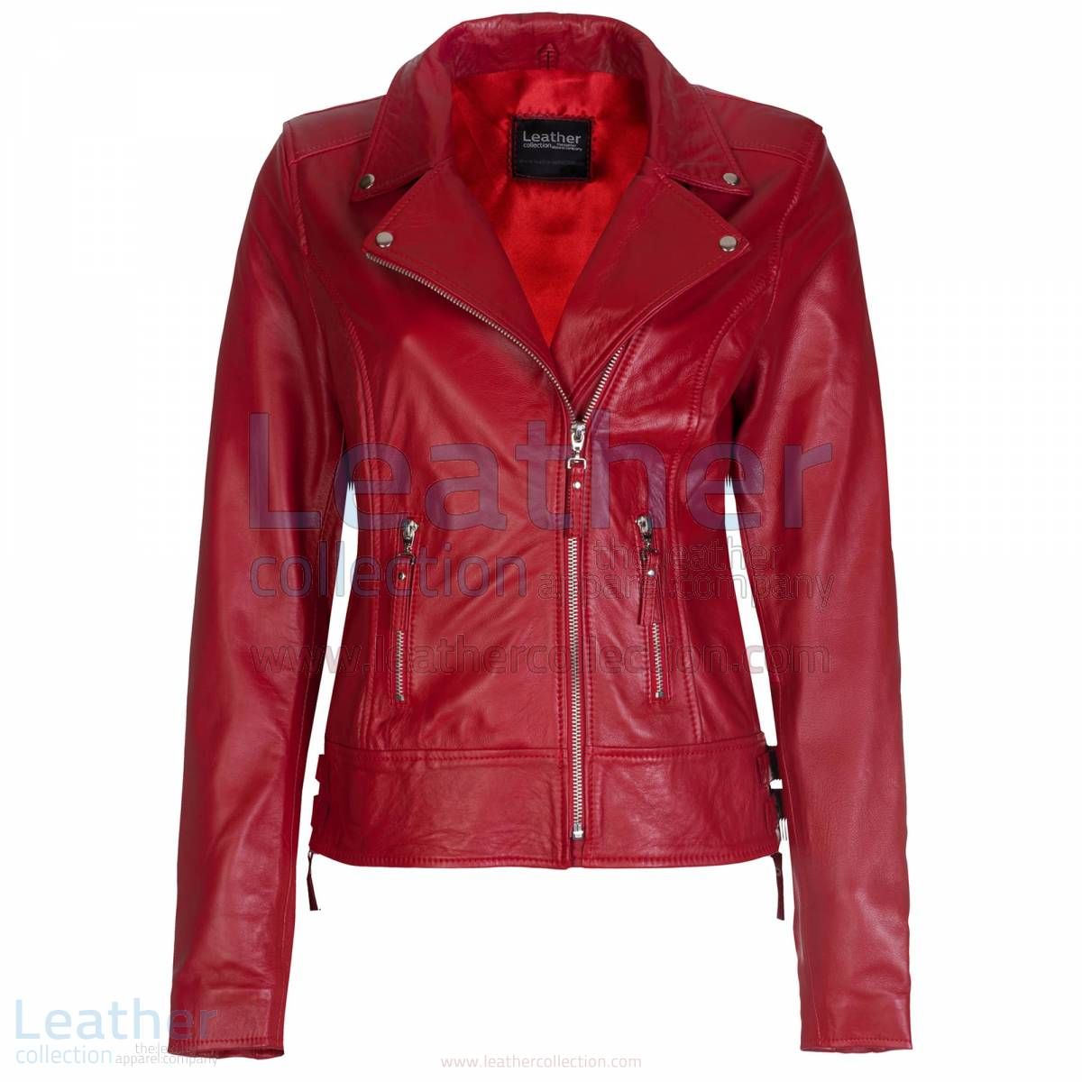 Vintage Biker Leather Jacket