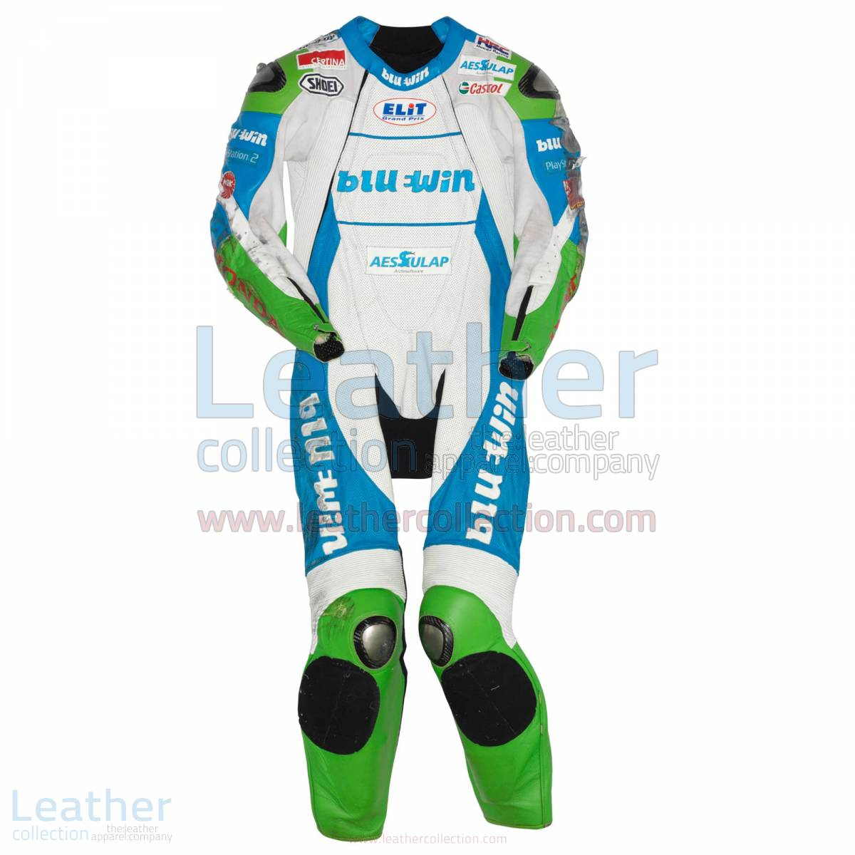 Thomas Luthi Honda GP 2005 Leather Suit