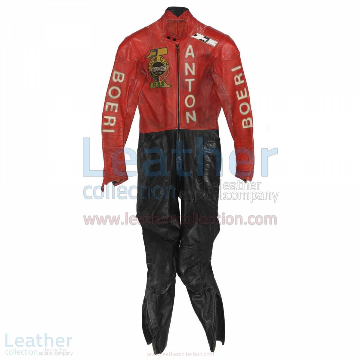 Toni Mang Kawasaki GP 1980 Racing Suit