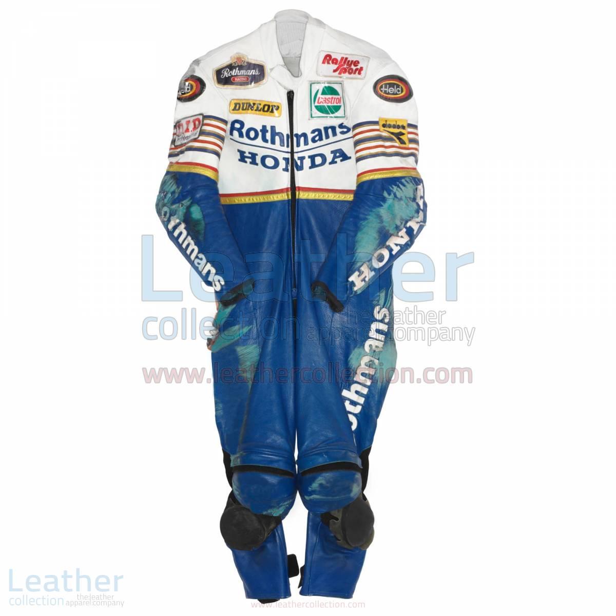 Toni Mang Rothmans Honda GP 1987 Racing Suit