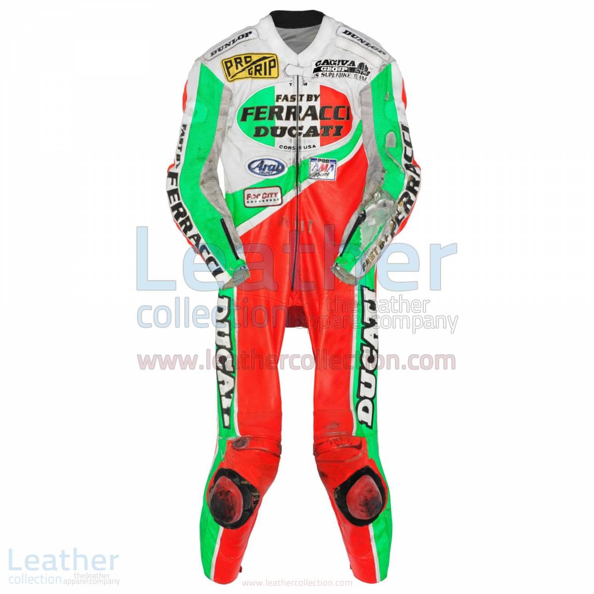 Troy Corser Ducati AMA 1994 Leather Suit