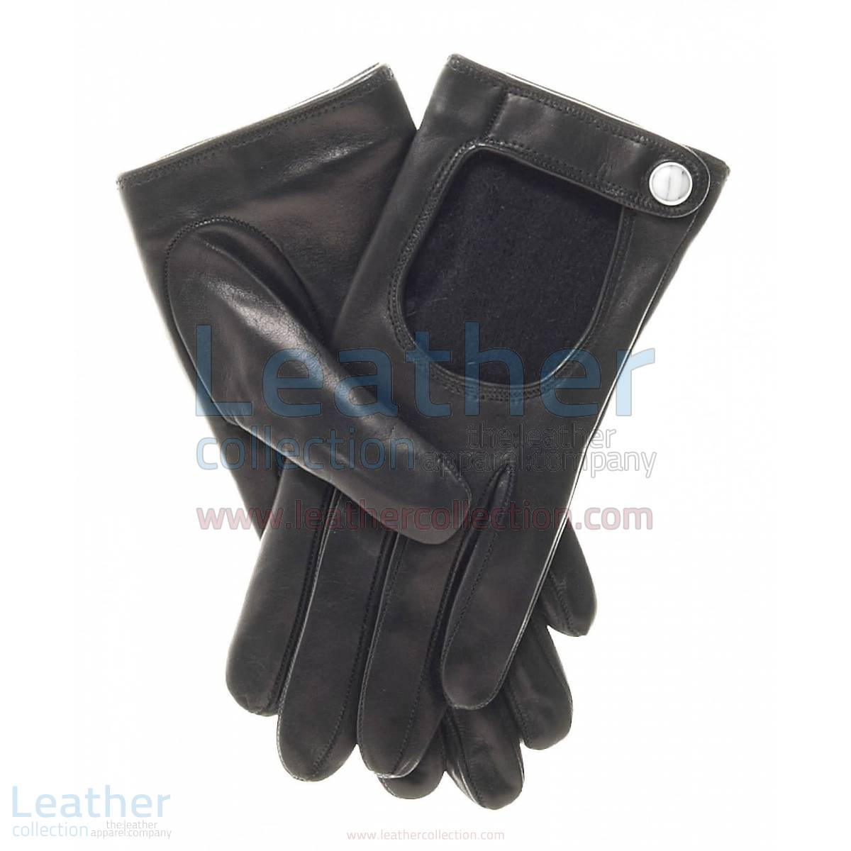 Winter Cashmere Wool Lined Driving Gloves – Leather Gloves