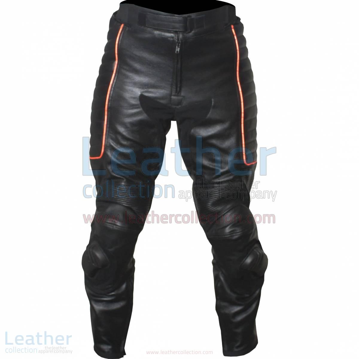 custom leather pants men
